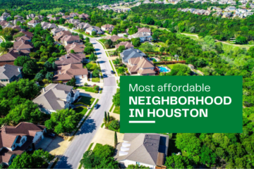 Most affordable neighborhood in Houston