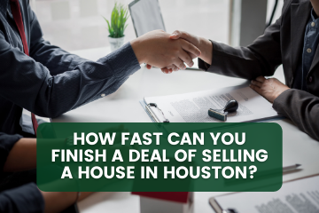 Here's an overview on how long it actually takes in selling a house fast in Houston