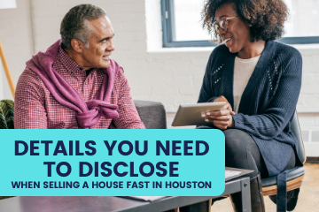 Selling a Home Fast in Houston